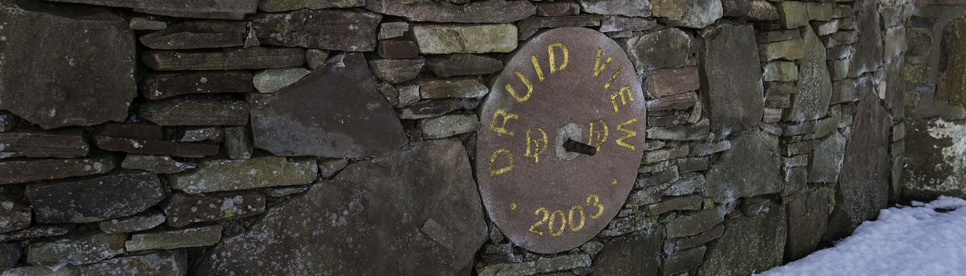 Druid View flagstone