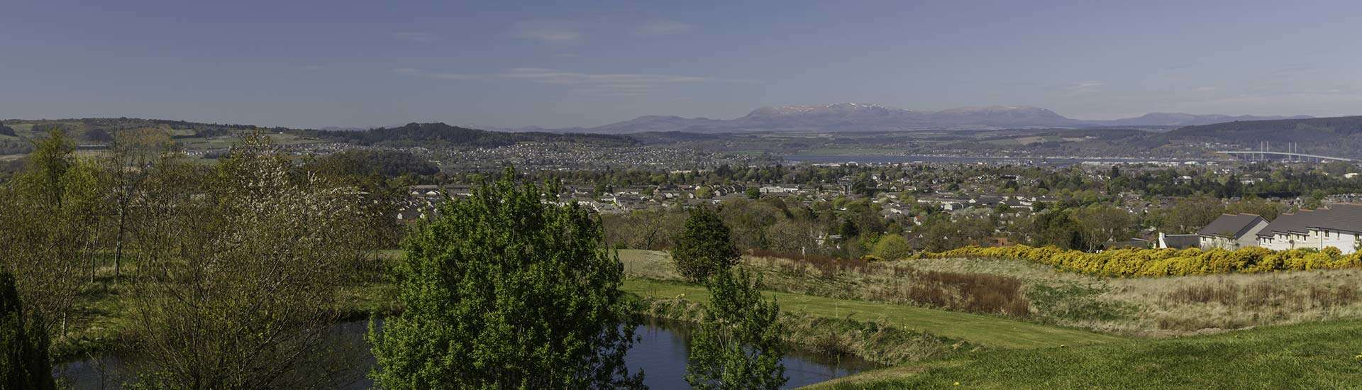View of Inverness & Ben Wyvis